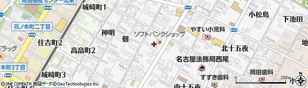 アンジェロ周辺の地図