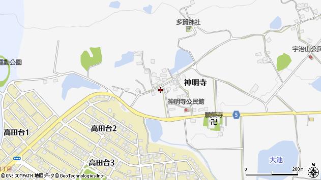 〒678-1221 兵庫県赤穂郡上郡町神明寺の地図