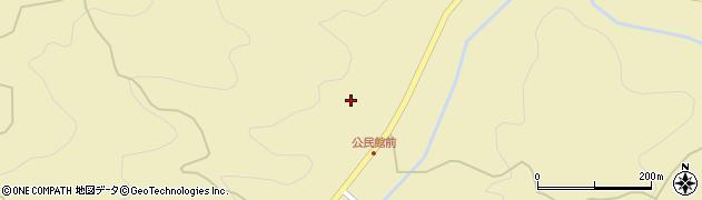 愛知県新城市黄柳野(丸渕)周辺の地図