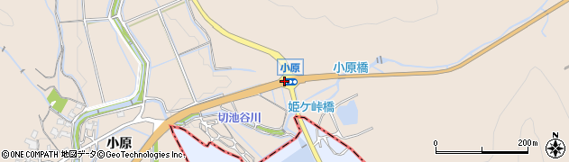 小原周辺の地図