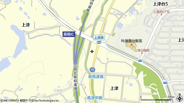 〒651-1512 兵庫県神戸市北区長尾町上津の地図