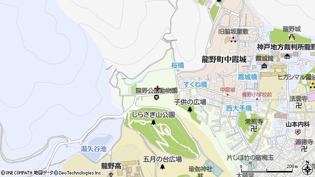 〒679-4162 兵庫県たつの市龍野町下霞城の地図