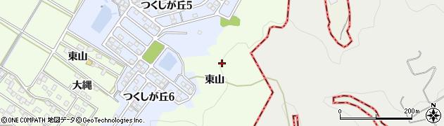 愛知県西尾市竹山町周辺の地図