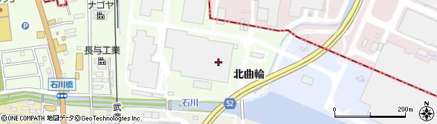 愛知県武豊町(知多郡)北曲輪周辺の地図