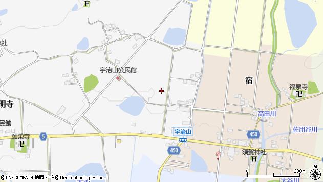 〒678-1218 兵庫県赤穂郡上郡町宇治山の地図