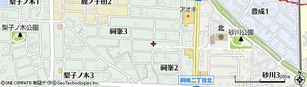 愛知県武豊町(知多郡)祠峯周辺の地図
