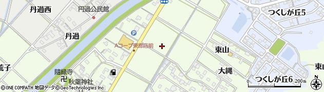 愛知県西尾市駒場町(四石目)周辺の地図