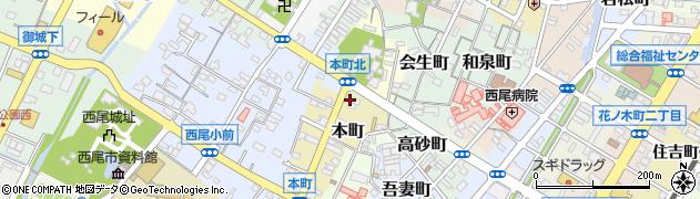 竹庵周辺の地図