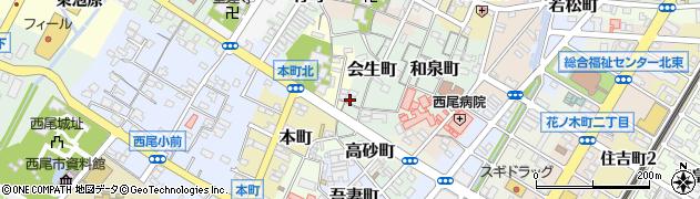 桐子周辺の地図