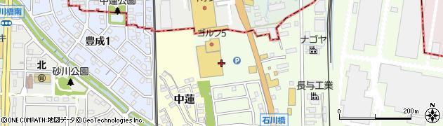 愛知県武豊町(知多郡)石川周辺の地図