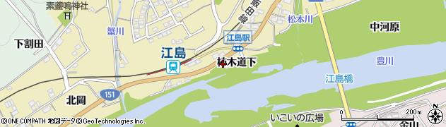 愛知県豊川市東上町(柿木道下)周辺の地図