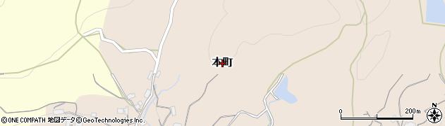 広島県庄原市本町周辺の地図