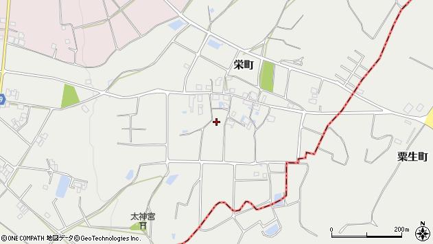 〒675-2112 兵庫県加西市栄町の地図