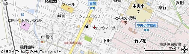 らーめん元八幸田店周辺の地図