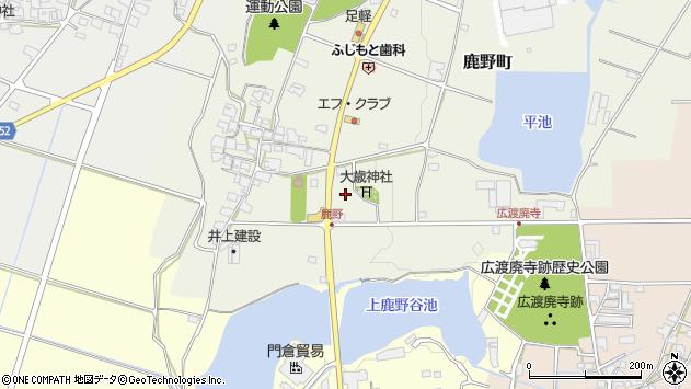 〒675-1364 兵庫県小野市鹿野町の地図