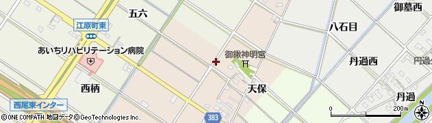 愛知県西尾市岡島町(宮西)周辺の地図