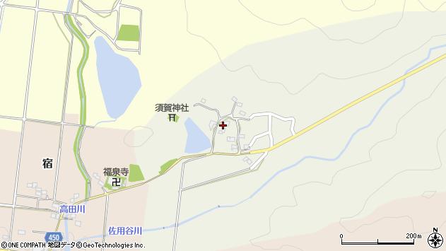 〒678-1212 兵庫県赤穂郡上郡町佐用谷の地図