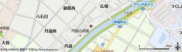 愛知県西尾市下永良町(鎮守)周辺の地図