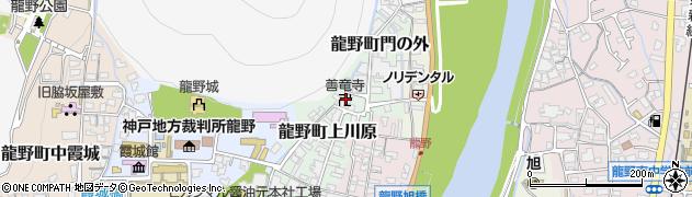 善竜寺周辺の地図