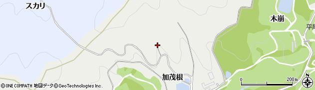 愛知県豊川市平尾町(加茂根)周辺の地図