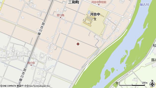 〒675-1357 兵庫県小野市三和町の地図