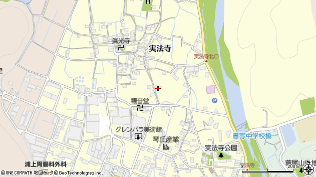 〒671-2244 兵庫県姫路市実法寺の地図