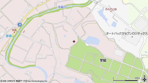 〒673-0751 兵庫県三木市口吉川町里脇の地図
