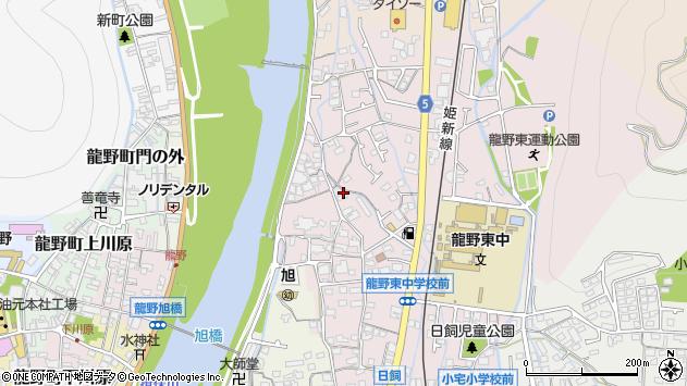 〒679-4122 兵庫県たつの市龍野町日飼の地図