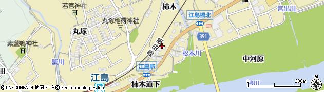 愛知県豊川市東上町(柿木)周辺の地図