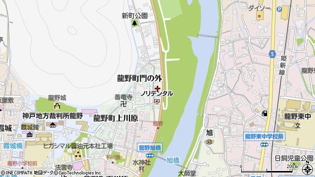 〒679-4174 兵庫県たつの市龍野町柳原の地図