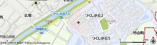 愛知県西尾市上永良町(金屑)周辺の地図