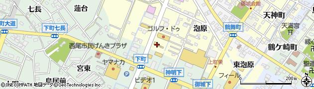 ばんばん亭周辺の地図