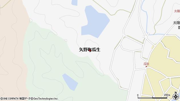 〒678-0091 兵庫県相生市矢野町金坂の地図