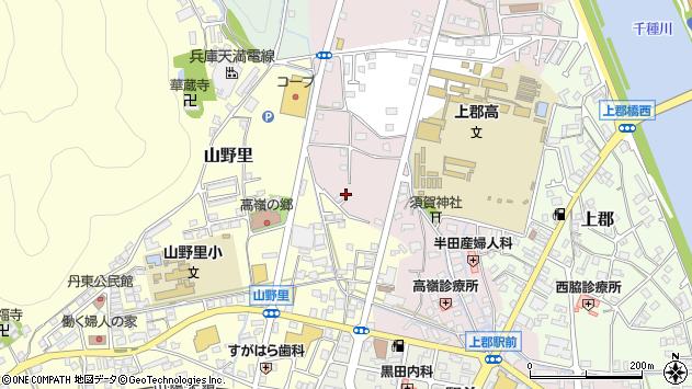 〒678-1233 兵庫県赤穂郡上郡町大持の地図
