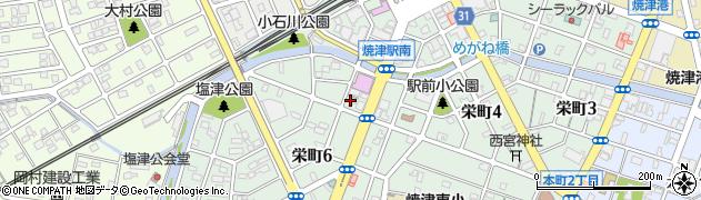 ゴールディ周辺の地図