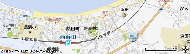 福恩寺周辺の地図