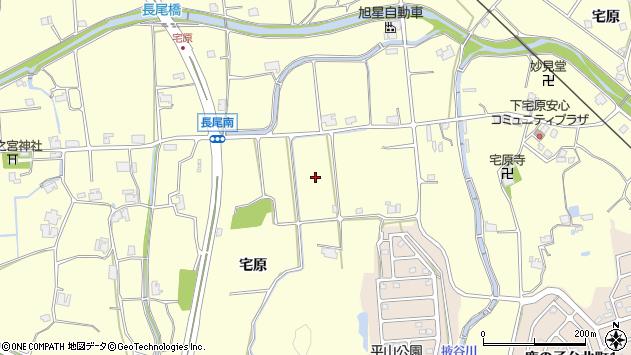 〒651-1511 兵庫県神戸市北区長尾町宅原の地図