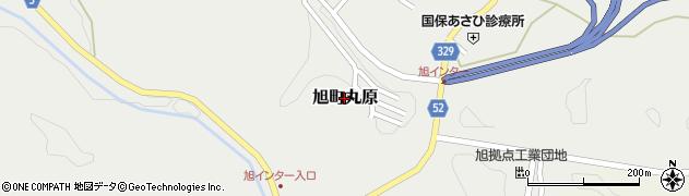 島根県浜田市旭町丸原周辺の地図