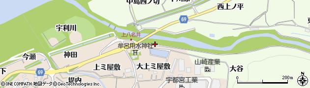 愛知県新城市八名井(朝拝)周辺の地図