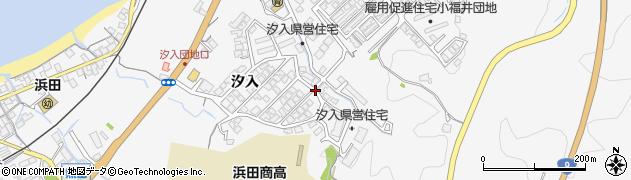島根県浜田市熱田町周辺の地図