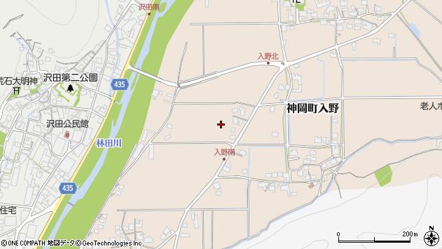 〒679-4115 兵庫県たつの市神岡町入野の地図