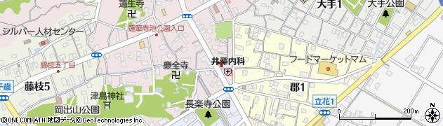 丸味周辺の地図