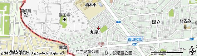 京都府八幡市西山(丸尾)周辺の地図