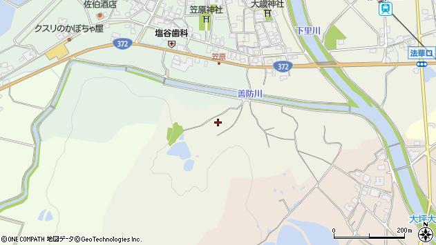 〒675-2212 兵庫県加西市東笠原町の地図