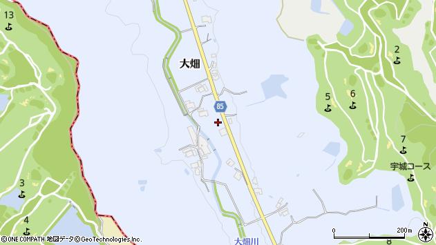 〒673-1325 兵庫県加東市大畑の地図