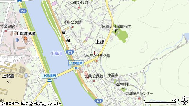 〒678-1231 兵庫県赤穂郡上郡町上郡の地図