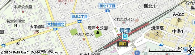 大井神社周辺の地図