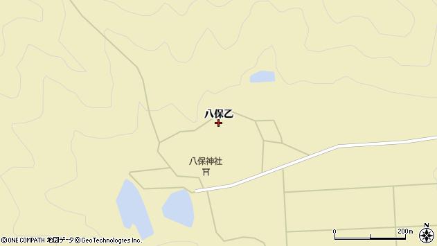 〒678-1256 兵庫県赤穂郡上郡町八保の地図