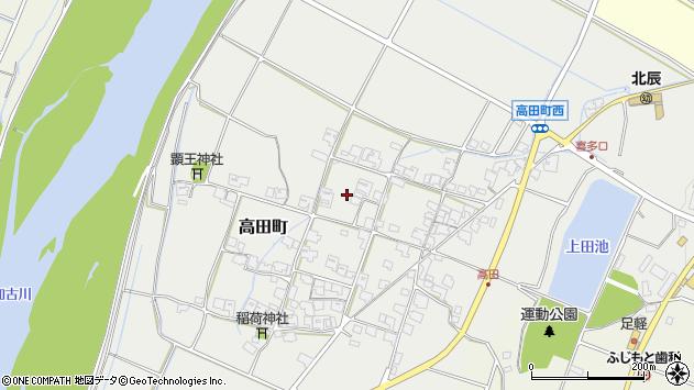 〒675-1369 兵庫県小野市高田町の地図
