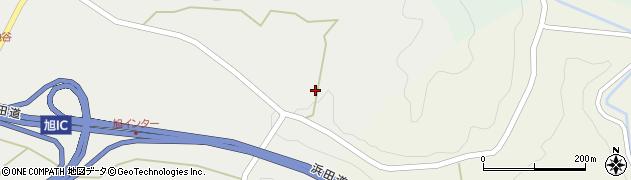 島根県浜田市旭町丸原(岩地谷)周辺の地図